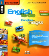 Vignette du livre English to go: L'anglais en images (vocabulaire - grammaire)