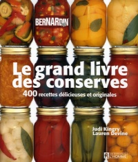 Grand livre des conserves (Le) -  Kingry & devine