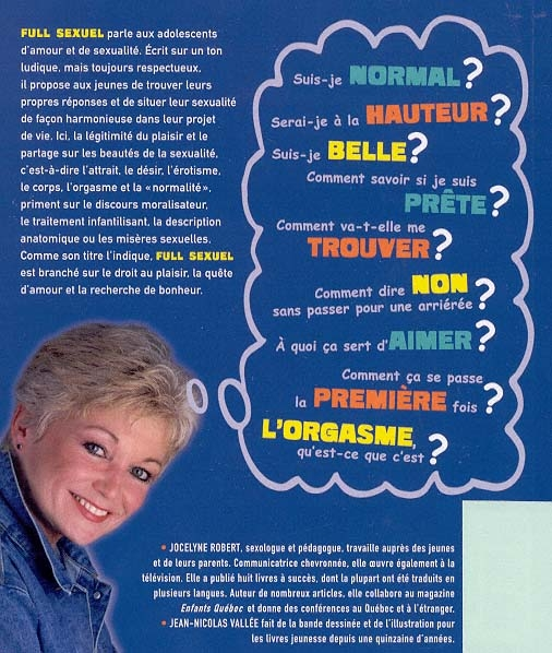 Full sexuel - Jocelyne Robert revers