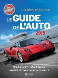 Guide de l'auto 2015, Marc Lachapelle
