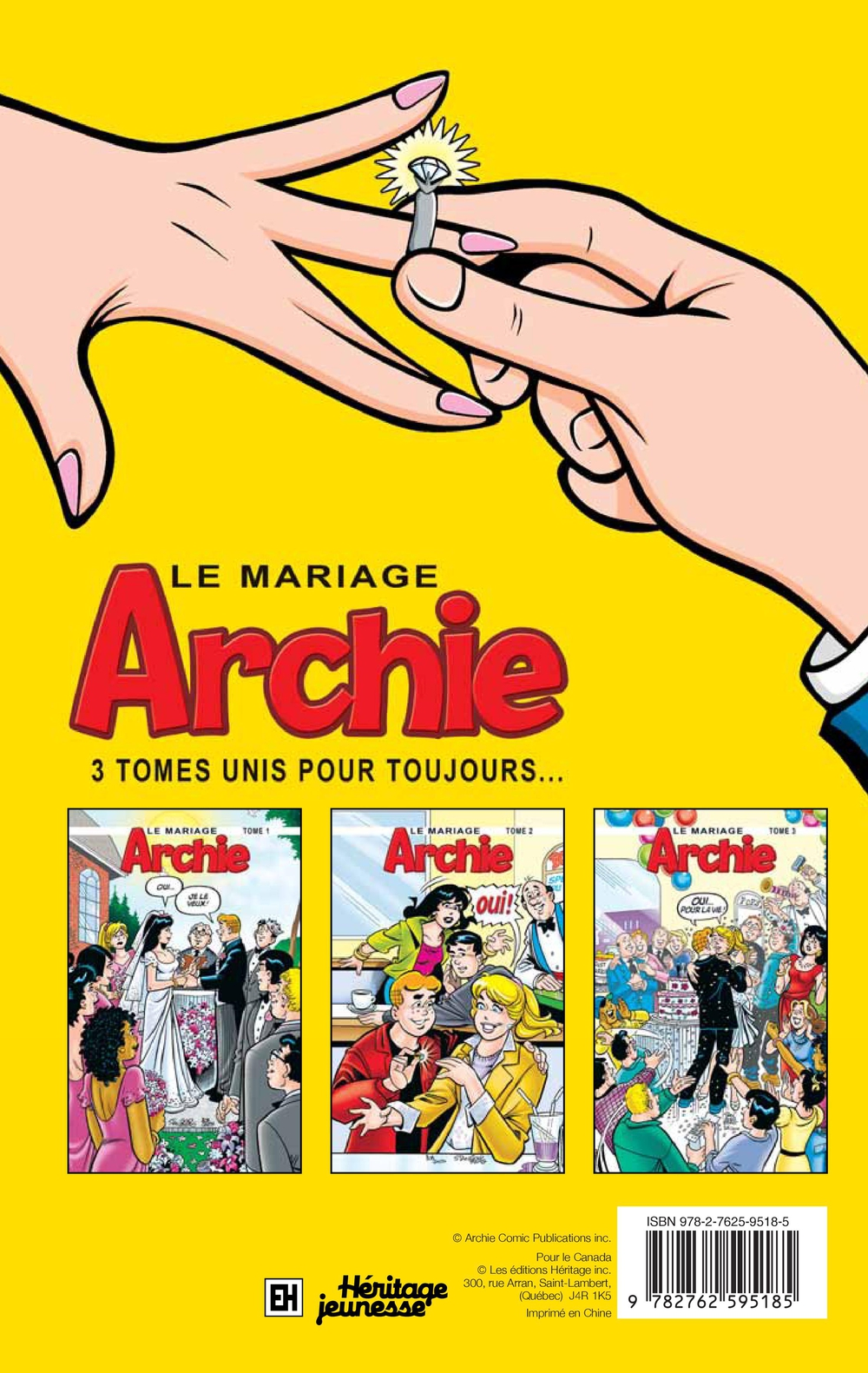 Archie : Le mariage T.1, Bob Smith revers