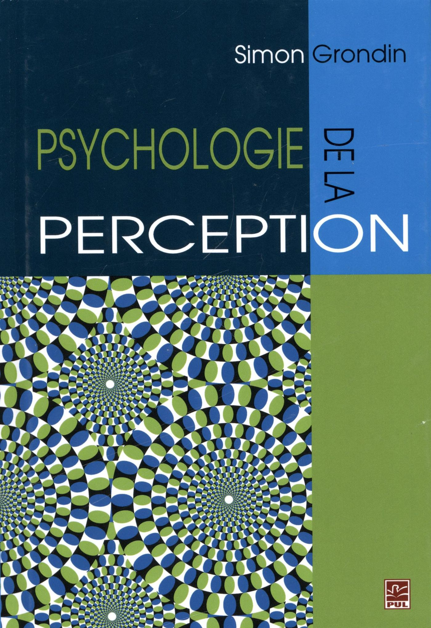 Vignette du livre Psychologie de la perception