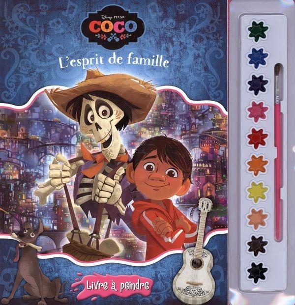 Disney Pixar Coco Lesprit De Famille Jeunesse Coloriage