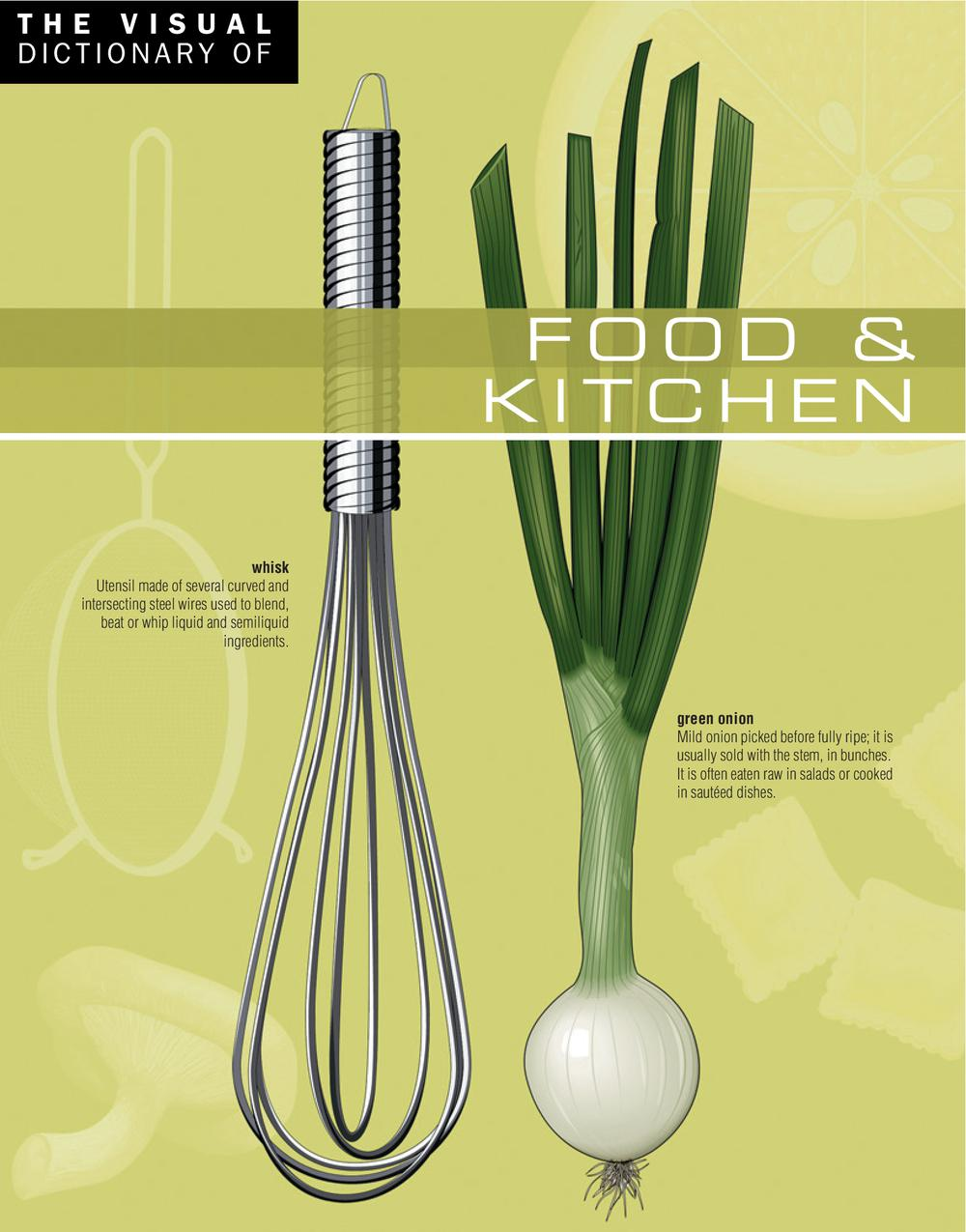 Vignette du livre The Visual Dictionary of Food & Kitchen