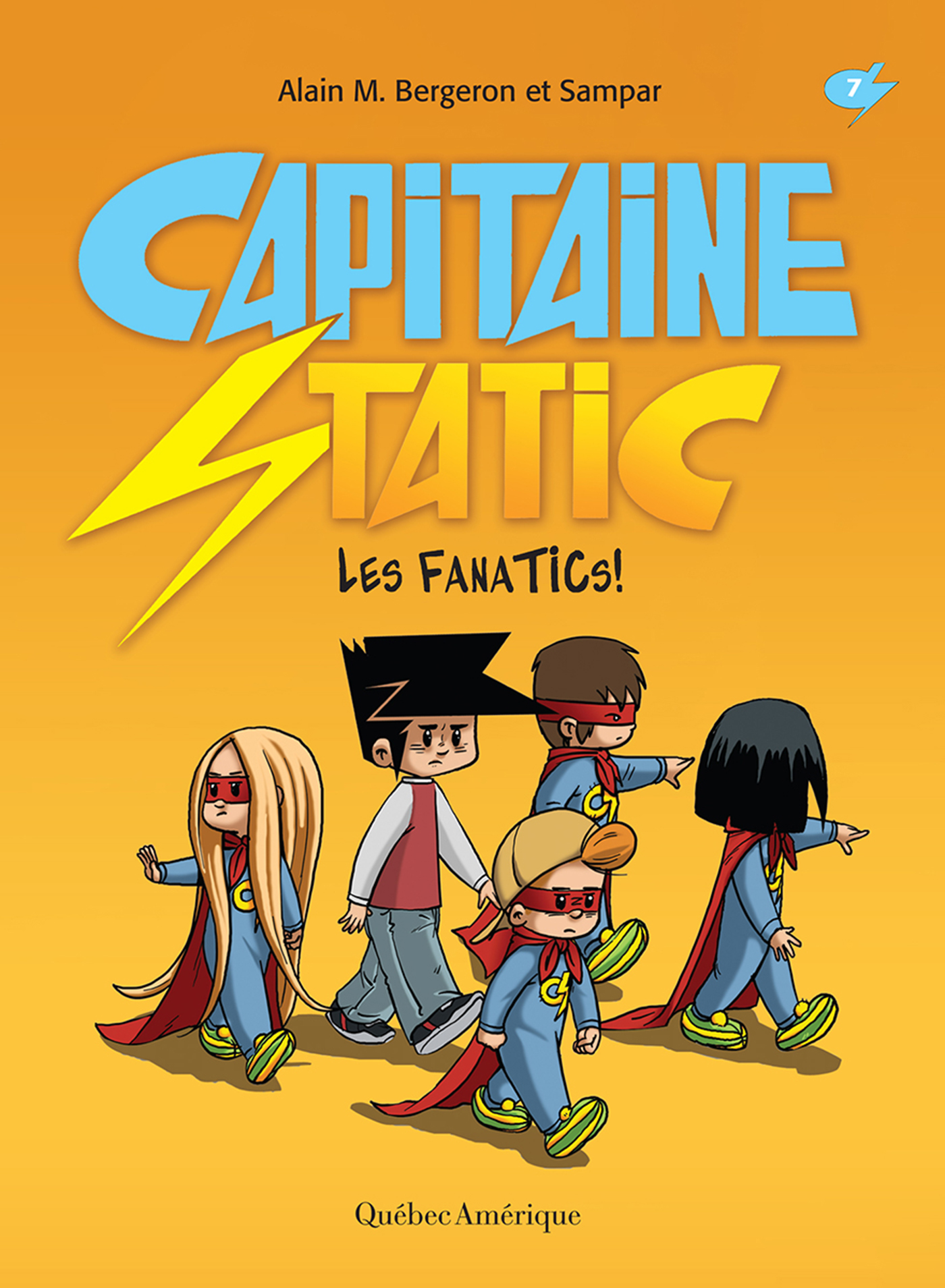 Capitaine Static T.7 : Les FanaTICs!,  Sampar