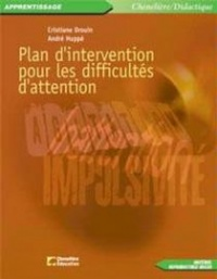 Vignette du livre Plan d'intervention pour les difficultés d'attention