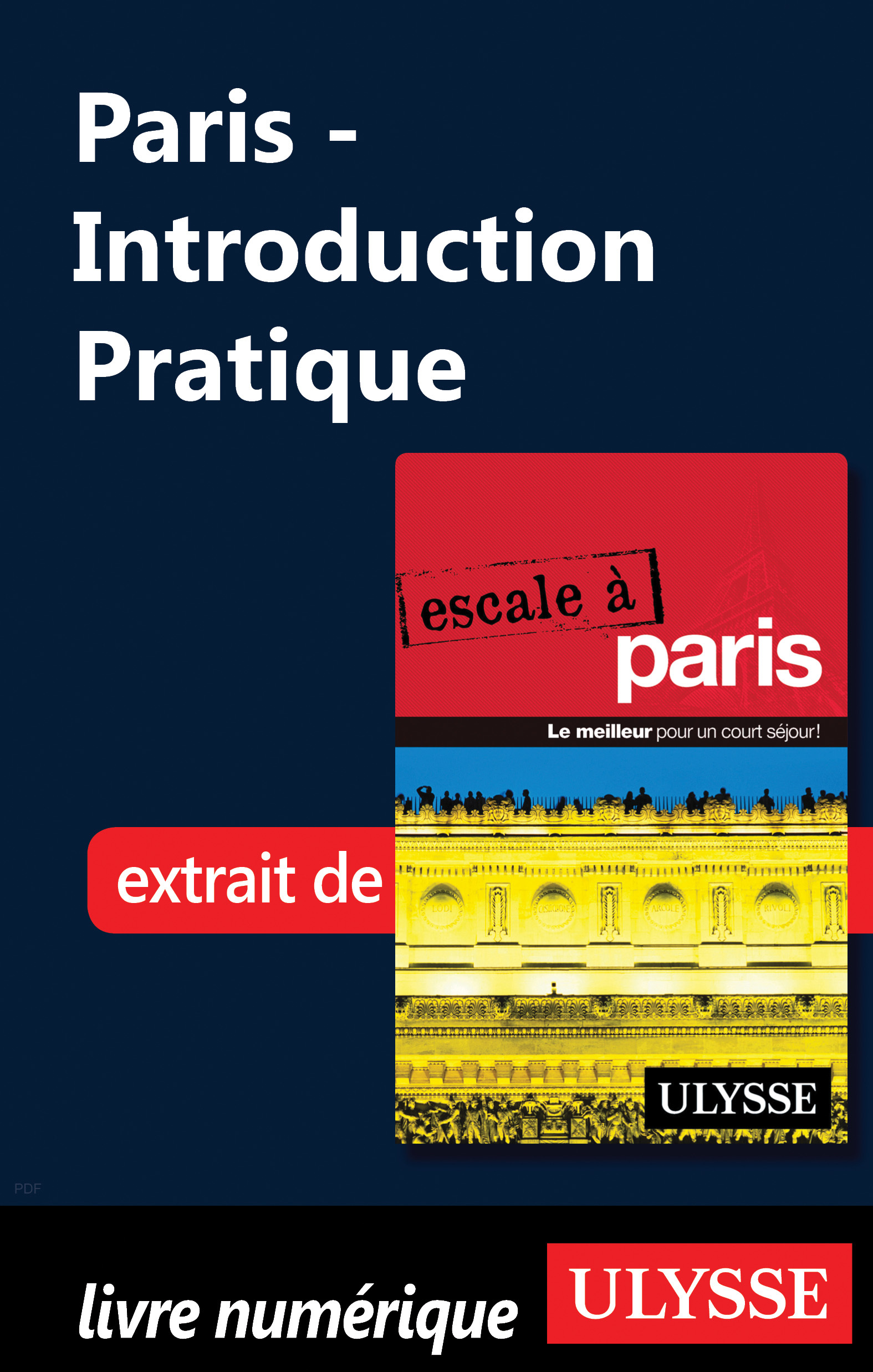 Vignette du livre Paris - Introduction Pratique