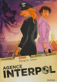 Vignette du livre Agence Interpol T.3: Rome: purple cats