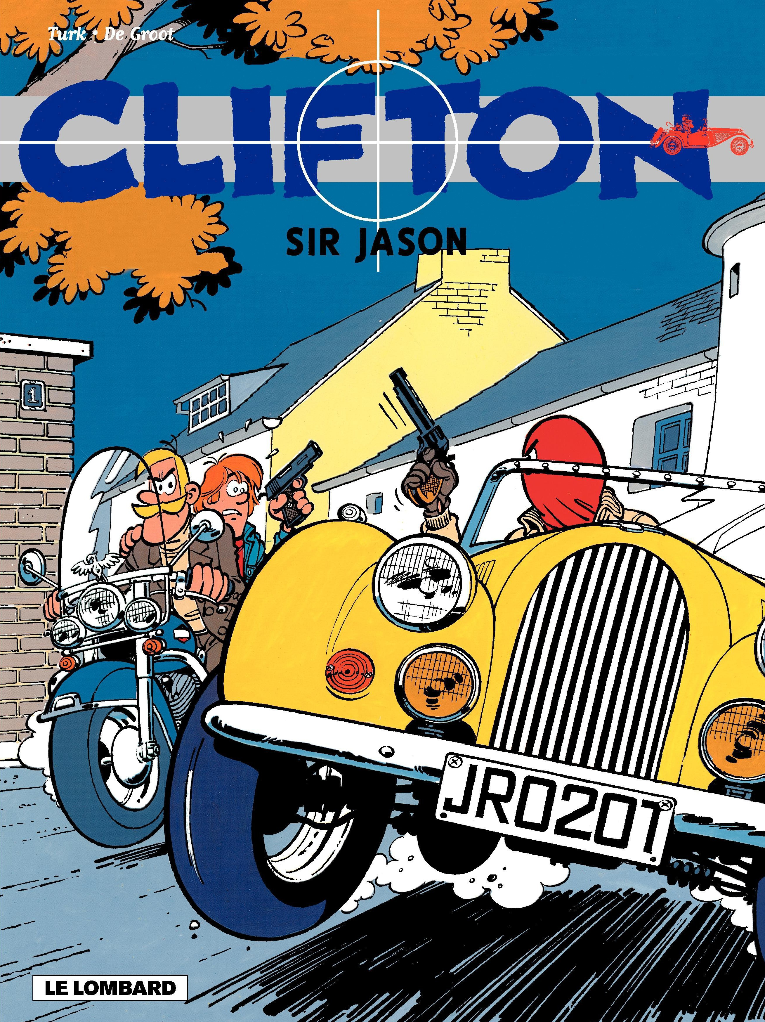 Vignette du livre Clifton - tome 7 - Sir Jason