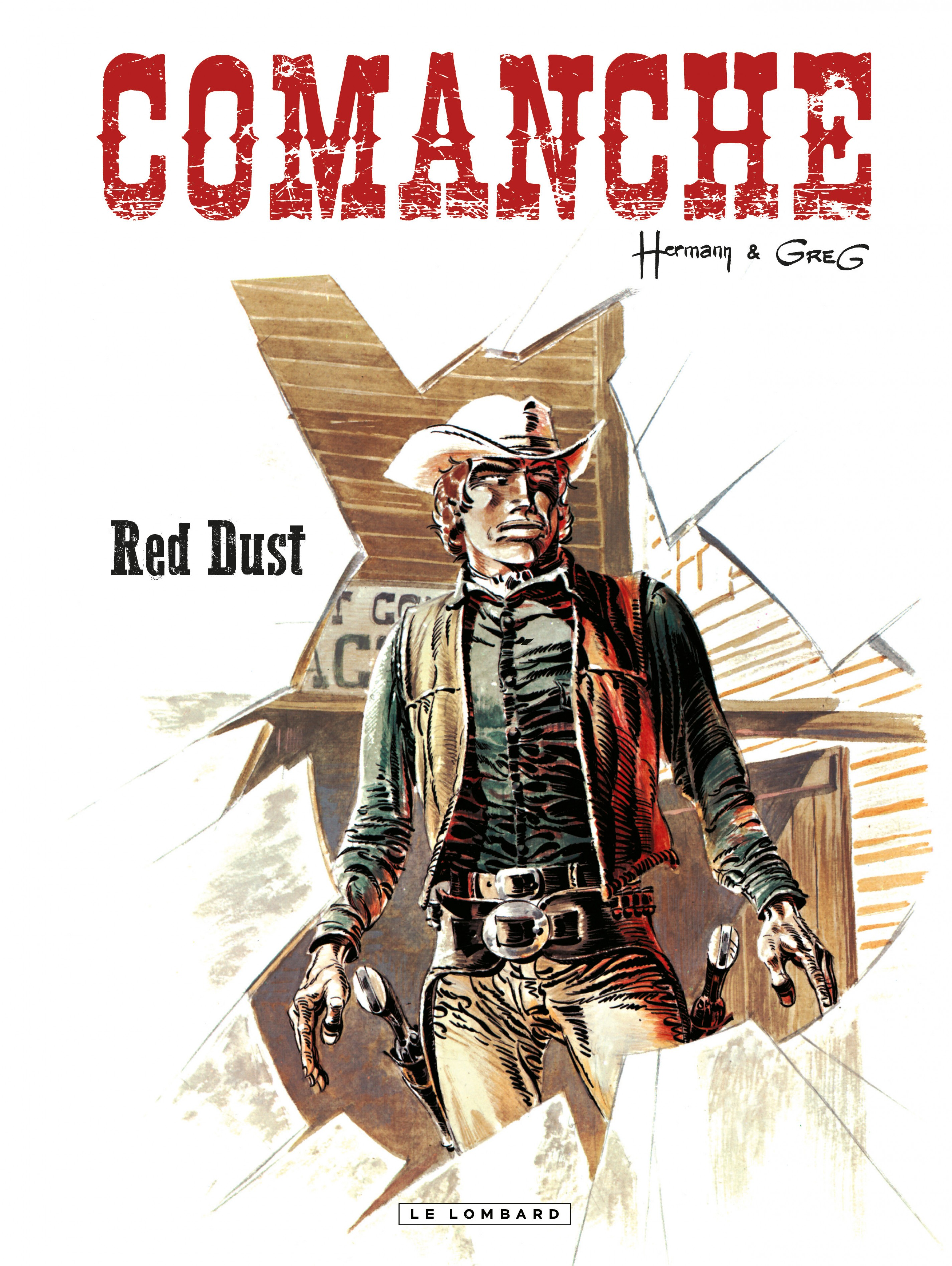 Vignette du livre Comanche T.1 : Red Dust -  Greg,  Hermann