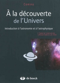 À la découverte de l'Univers: introduction à l'astronomie et... - Neil F. Comins