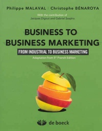 Vignette du livre Business to business marketing