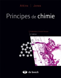 Vignette du livre Principes de chimie - Peter William Atkins, Loretta Jones, Leroy Laverman