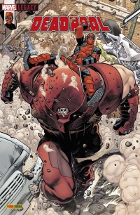 Vignette du livre Marvel Legacy. Deadpool, No 6 : Nuances de Grey