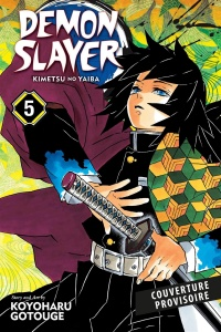 Vignette du livre Demon Slayer : Kimetsu no Yaiba T.5