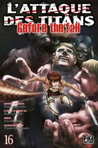 L'attaque des titans : Before the Fall T.16, Thores Shibamoto