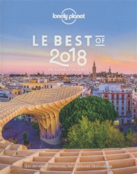 Vignette du livre Le best of 2018 de Lonely Planet