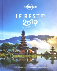 Vignette du livre Le best of 2019 de Lonely Planet