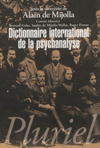 Vignette du livre Dictionnaire international de la psychanalyse