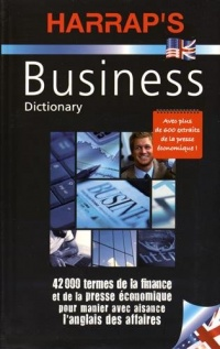Vignette du livre Harrap's Business: dictionary English-French