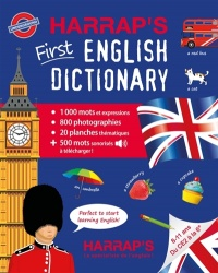 Vignette du livre First English Dictionary