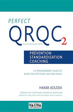 Vignette du livre Perfect QRQC 2: prévention, standardisation, coaching