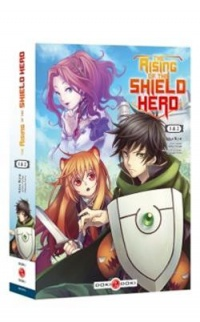 Vignette du livre The Rising of the Shield Hero, étui T.1-2