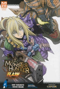 Vignette du livre Monster Hunter Flash T.4