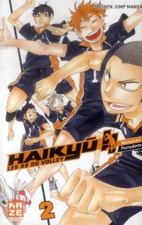 Vignette du livre Haikyu !! : Les as du volley T.2