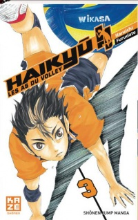 Vignette du livre Haikyu !! : Les as du volley T.3