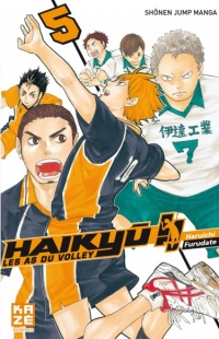 Vignette du livre Haikyu !! : Les as du volley T.5