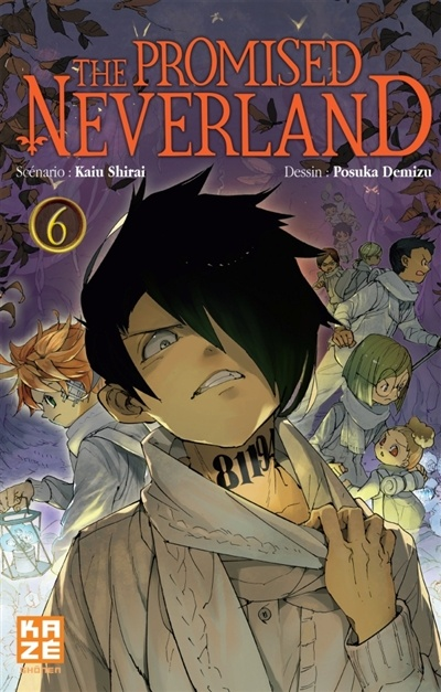 The Promised Neverland T.6 par Kaiu Shirai, Posuka Demizu ...