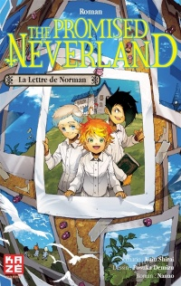 Vignette du livre The promised Neverland. La lettre de Norman