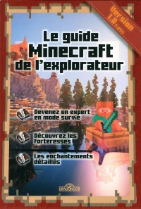 Vignette du livre Guide minecraft de l'explorateur