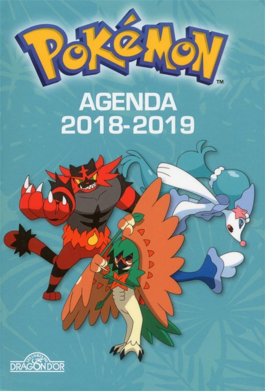 Calendrier De Lavent Pokemon 2020.Pokemon Agenda 2018 2019 Jeunesse Agendas Calendriers