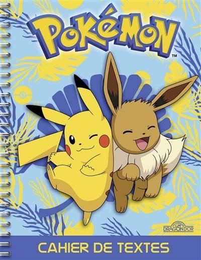 Calendrier De Lavent Pokemon 2020.Pokemon Cahier De Textes