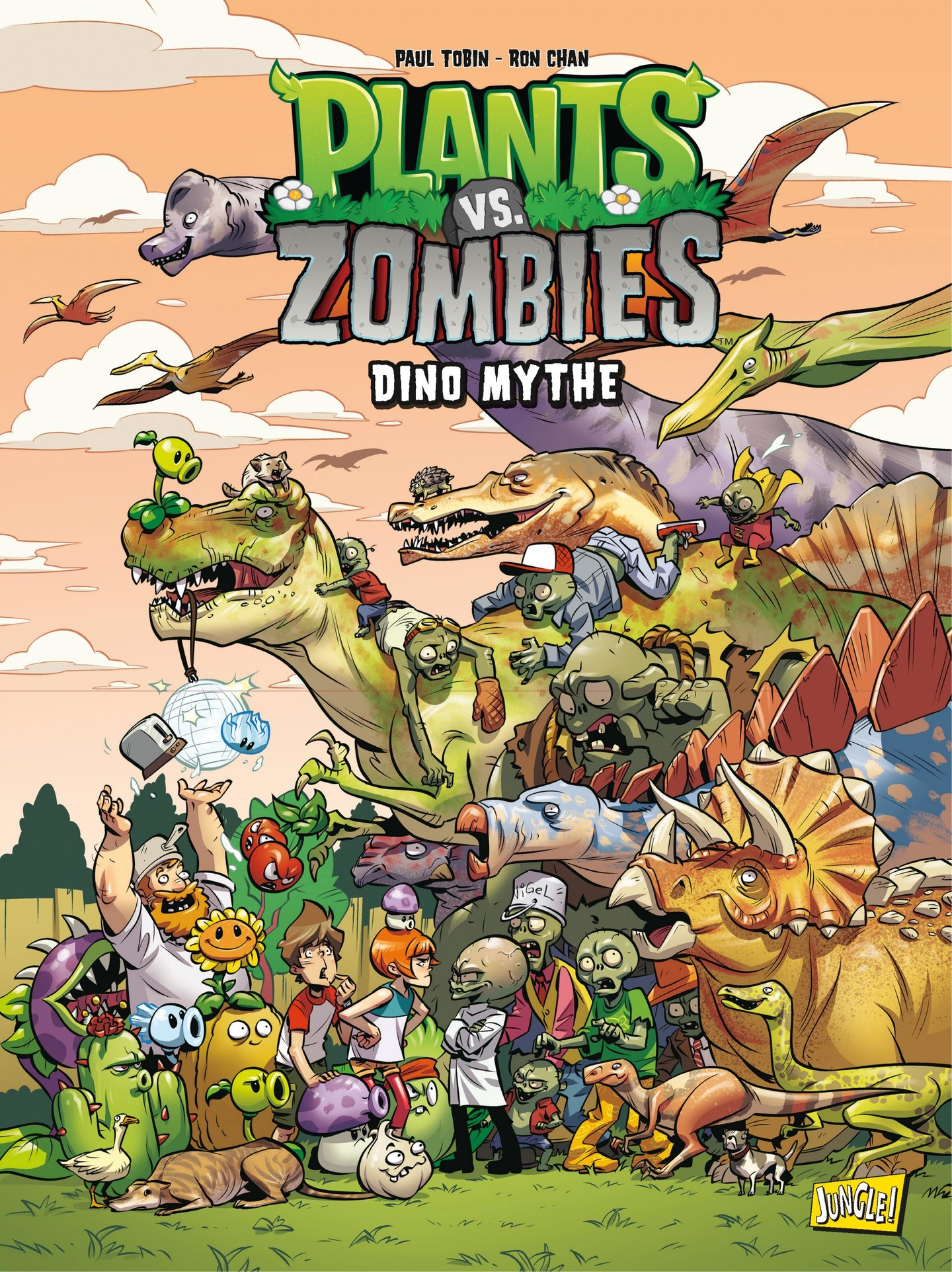 Vignette du livre Plants vs zombies T.12 : Dino mythe