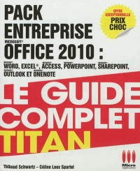 Vignette du livre Pack entreprise Office 2010: Word, Excel, Access, PowerPoint,...
