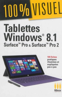 Vignette du livre Tablettes Windows 8.1: Surface Pro et Surface Pro 2