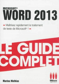 Word 2013 - Marina-Nicole Mathias