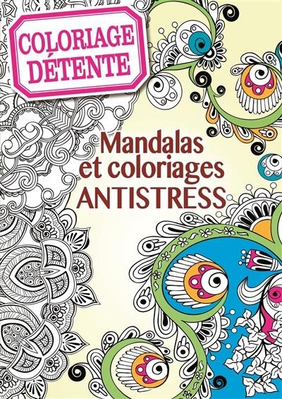 Coloriage antistress et cr atif 60 mandalas grand format par julie vercout re loisirs - Coloriage grand format ...
