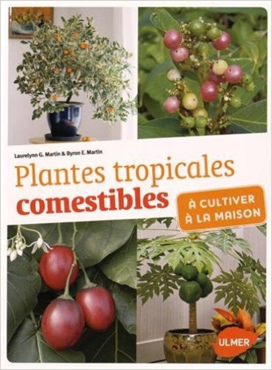 plantes tropicales comestibles cultiver la maison par laurelynn g martin byron e martin. Black Bedroom Furniture Sets. Home Design Ideas