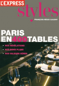 Vignette du livre Paris en 400 tables