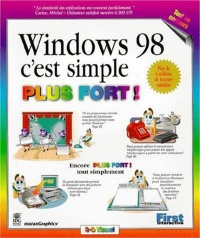 Vignette du livre Windows 98, c'Est Simple Plus Fort