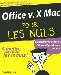 Vignette du livre Office V.X Mac