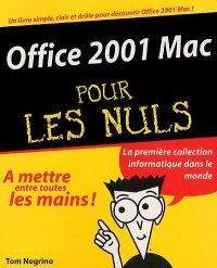 Vignette du livre Office 2001 Mac - Tom Negrino