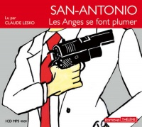 Vignette du livre San Antonio :Les anges se font plumer 1 CD mp3  (4h00)