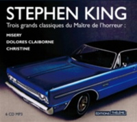Vignette du livre Coffret Stephen King : Misery, D.Clairborne, Christine 6 CD mp3 - Stephen King