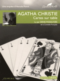 Vignette du livre Destination inconnue  1 CD mp3 (3h42) - Agatha Christie