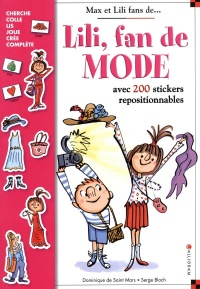 Vignette du livre Lili, fan de mode: avec 200 stickers repositionnables